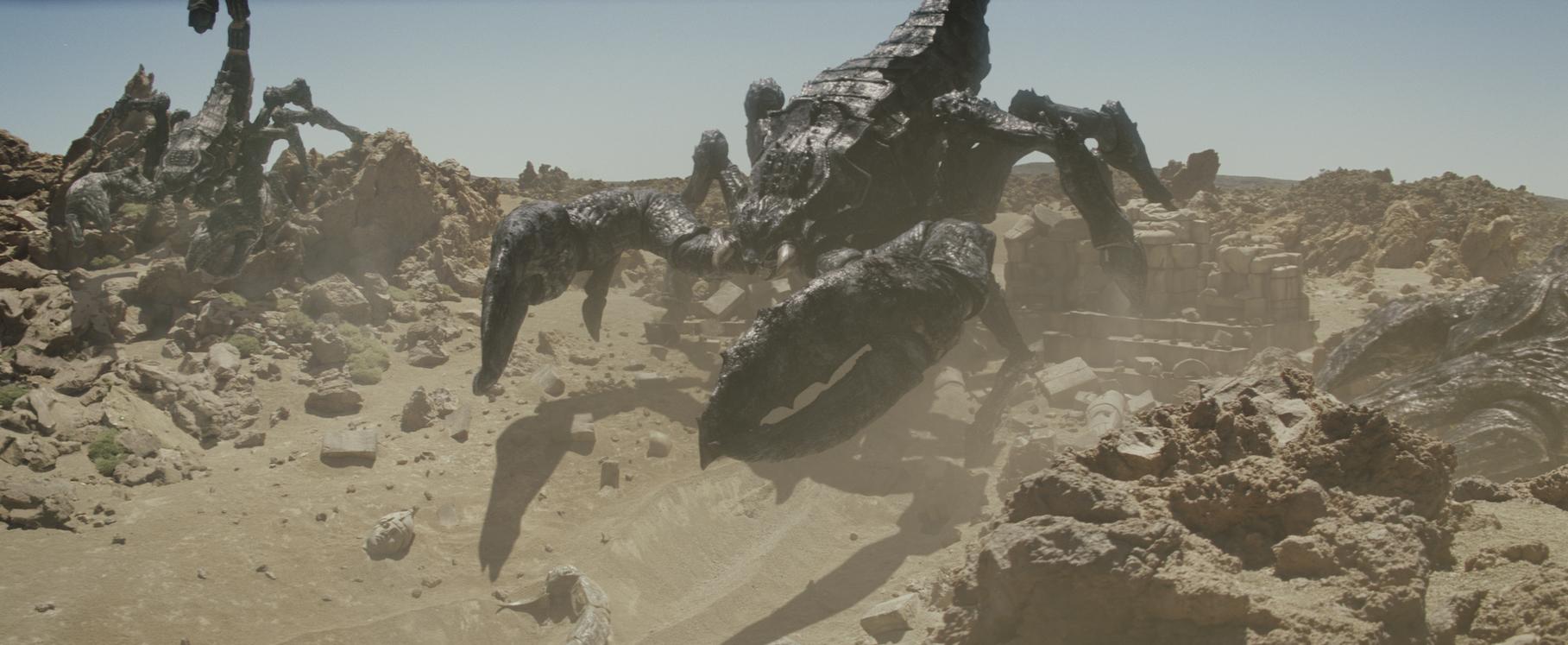 Cinesite - Clash of the Titans   SideFX