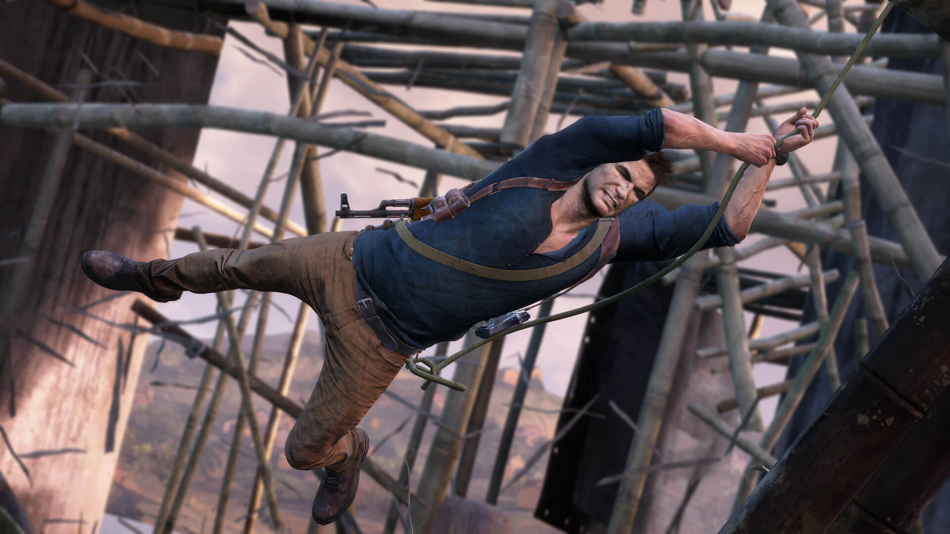 FX Adventures in Uncharted 4: A Thief's End | SideFX